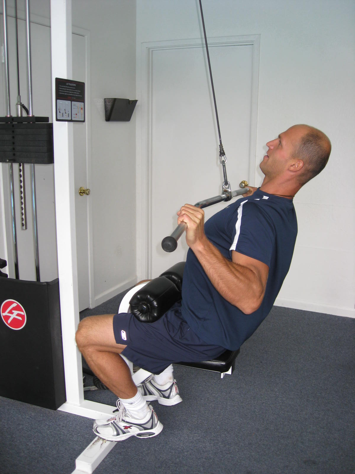 all body resistance workout - lat pulldown