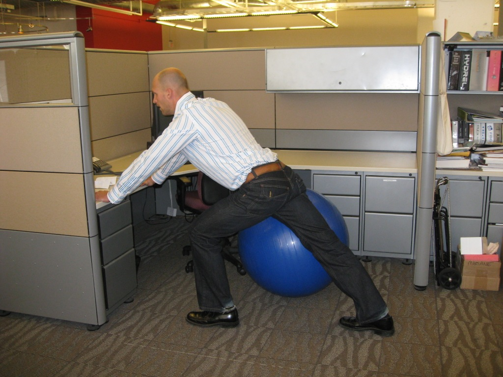 Stretch At Work Office