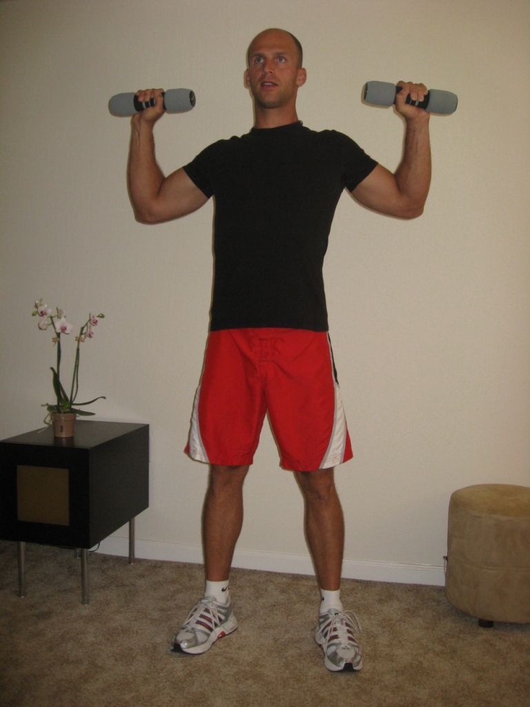 Home workout plan for elderly people and beginners