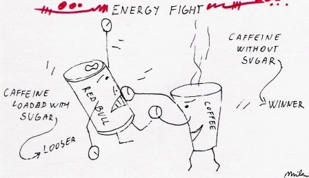 Caffeine Red Bull Vs Coffee